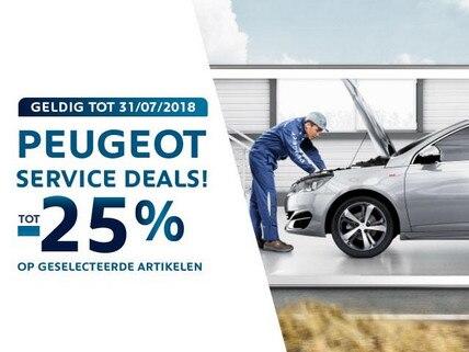 Ontdek de voordelen van een Peugeot dealer  - 25% voordeel