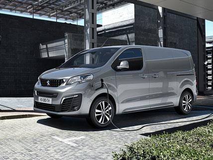 Nieuwe Peugeot e-EXPERT – opladen op het werk