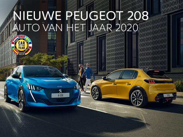 Nieuwe Peugeot 208 - Auto van het Jaar 2020