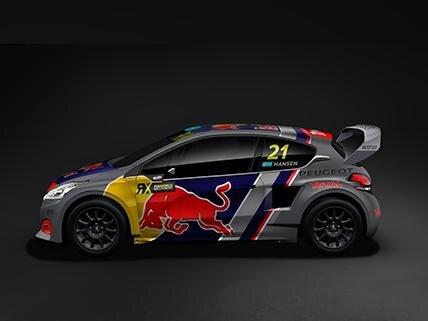 Team PEUGEOT Total - nieuwe 2018 versie Peugeot 208 WRX
