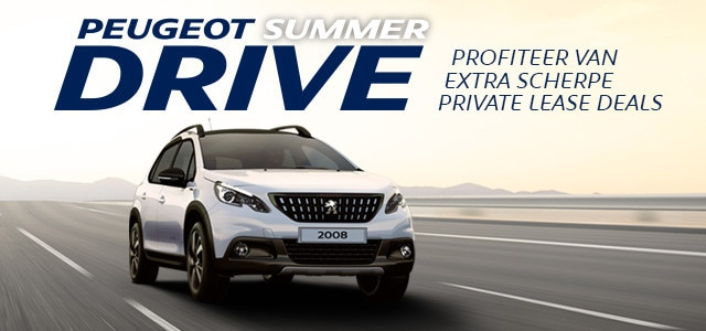 Peugeot SummerDrive - Peugeot 2008 SUV Private Lease Deal