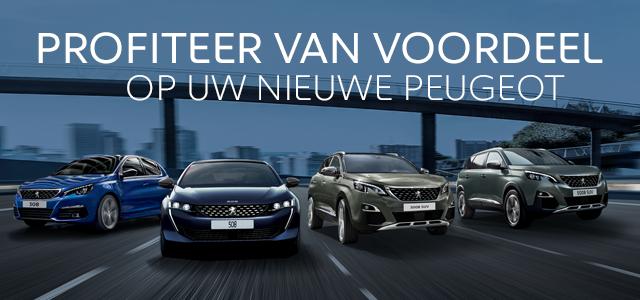 Profiteer van voordeel op uw nieuwe Peugeot