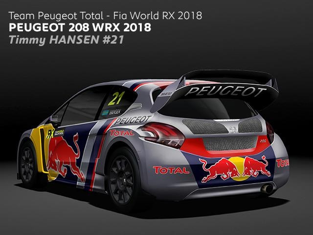 Team PEUGEOT Total - Timmy Hansen