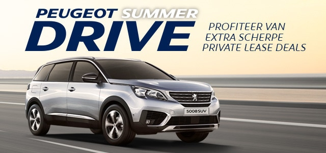 Peugeot SummerDrive - Peugeot 5008 SUV Private Lease Deal