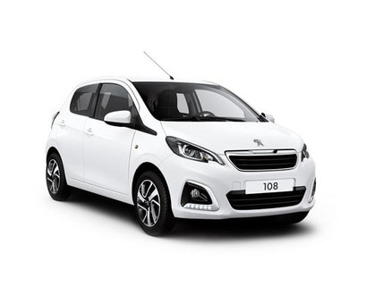 Peugeot 108 Allure - Blue Lease