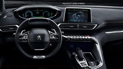 Peugeot 3008 SUV - Oog voor detail interieur