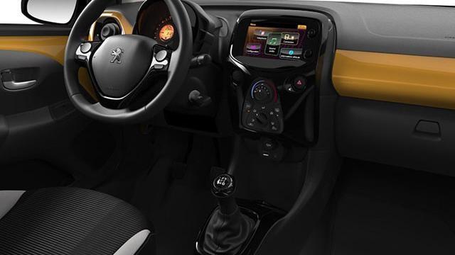 Peugeot 108 Collection - interieur