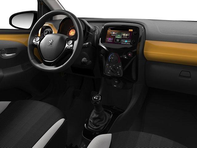 Peugeot 108 de speciale exclusieve collectie peugeot for Interieur peugeot 108