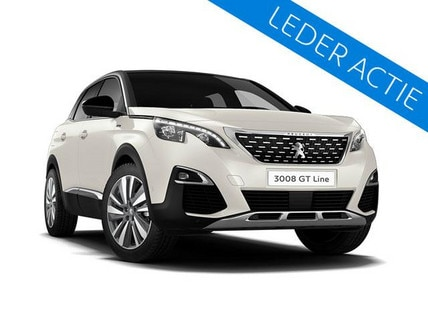 Peugeot 3008 SUV GT-Line Blue Lease Executive