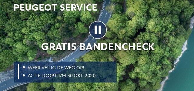 Peugeot Bandencheck