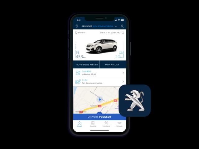 Peugeot 3008 SUV HYBRID - MyPeugeot App