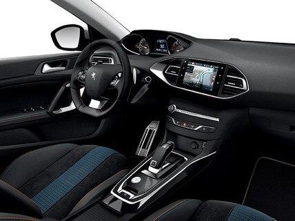 Peugeot 308 - Serie Tech Edition - nieuwe bekleding