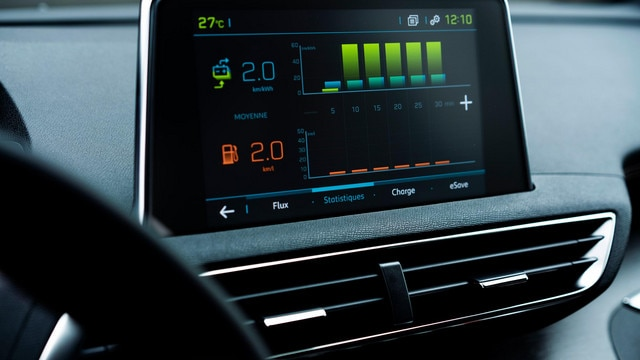 Peugeot 3008 SUV HYBRID - HD-touchscreen