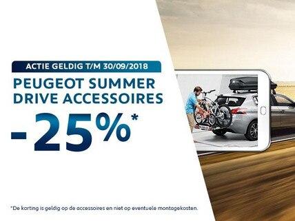 Peugeot Summer Drive Accessoires