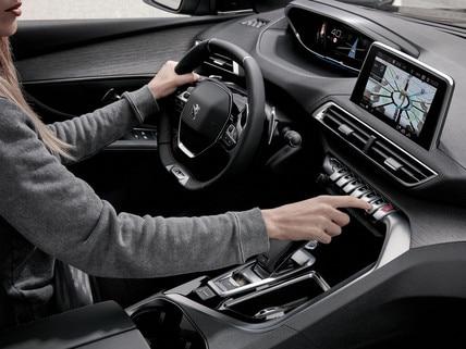 Peugeot Technologie - Rijplezier - interieur