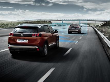 Peugeot Technologie - veiligheids- en rijhulpsystemen