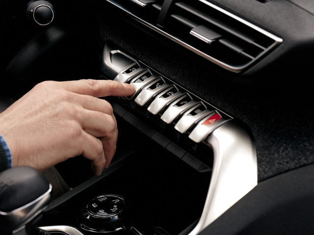 Sensaties - Materialen - Toggle switches Peugeot 3008 en 5008