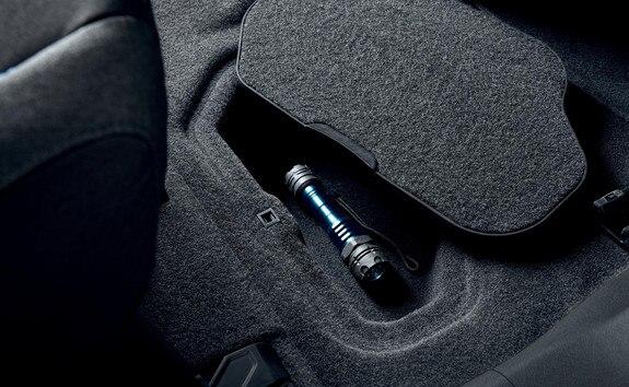 Peugeot Rifter – interieur opbergruimte
