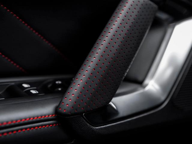 Sensaties - Materialen - Details portieren Peugeot 308 GTi
