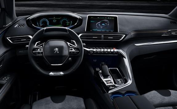 Hybride-aandrijflijn - PEUGEOT i-Cockpit®