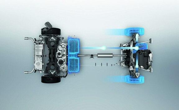 Nieuwe Peugeot 508 HYBRID, lithium-ion tractiebatterij en 100% elektrische rijmodus