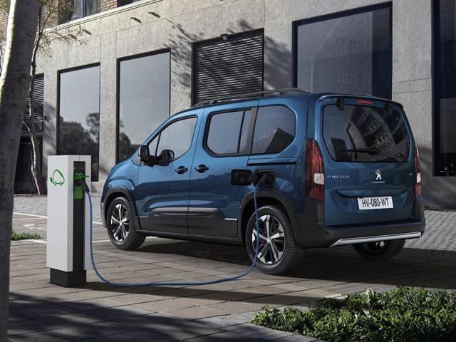 Nieuwe Peugeot e-Rifter