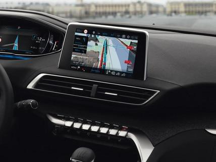 Peugeot Technologie - Connectiviteit - Connect 3D-Navigatiesysteem