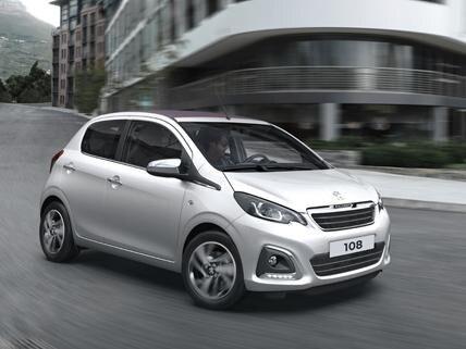 Peugeot 108 - Mobiliteitsbudget