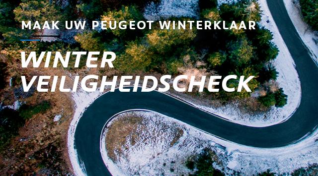 Winter Veiligheidscheck - maak uw PEUGEOT winterklaar
