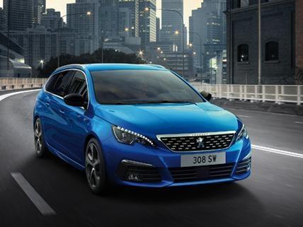 Peugeot 308 SW - Mobiliteitsbudget