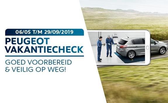 Peugeot Vakantiecheck - Goed voorbereid en veilig op weg