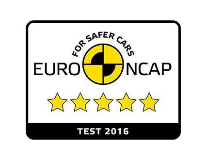 EuroNCAP 5 sterren 2016