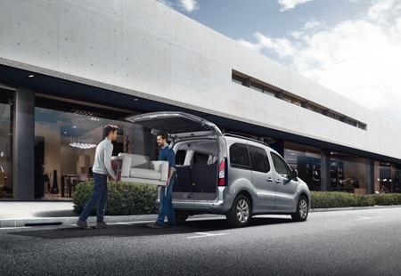 Peugeot Partner Tepee - brede achterklep