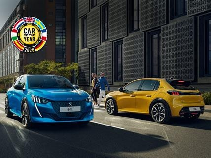 nieuwe Peugeot 208 - Car of the Year 2020