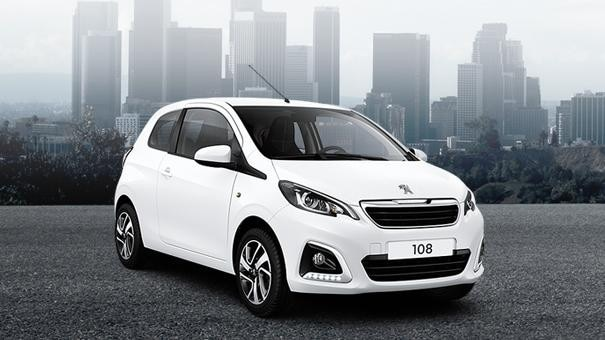 Peugeot 108 Allure Upgradepakketten