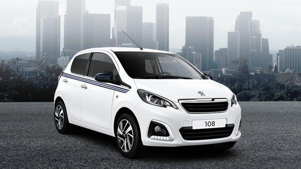Peugeot 108 Collection Upgradepakketten