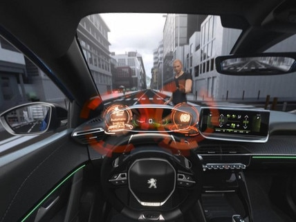 Nieuwe Peugeot 2008 SUV - Virtual Reality - Active Safety Brake
